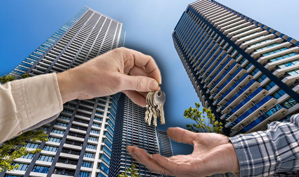 Having the money to buy or rent a condo or apartment